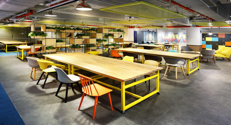The Wave 共享工作空間 ( 固定工作桌 & 流動工作桌) /  The Wave  Co-working space ( Fixed Desk & Hot Desk)